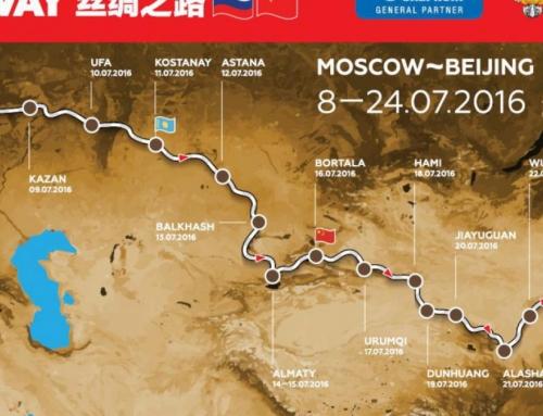 Silkway Rally 2016 Moscou Pékin